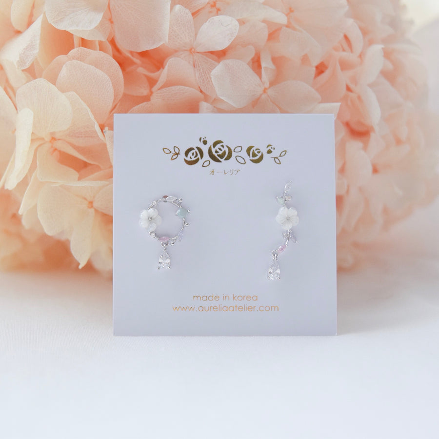 Made in Korea Earrings Necklace Bracelet Korean Anting Rantai Gelang Tangan Cubic Zirconia Bride Bridal Dinner 925 Sterling Silver Accessory Fashion Fancy Stylish Costume Jewellery Online Malaysia Shopping Trendy Accessories Daily Wear Jewelry Dainty Minimalist Delicate Clip On Earrings No Piercing Special Perfect Gift From Heart For Your Loved One Happy Valentines Day Petite Floral Box gift for her bracelet, surprise gift, birthday gift, gift set, premium gift, online gift shop, bridesmaid gift,