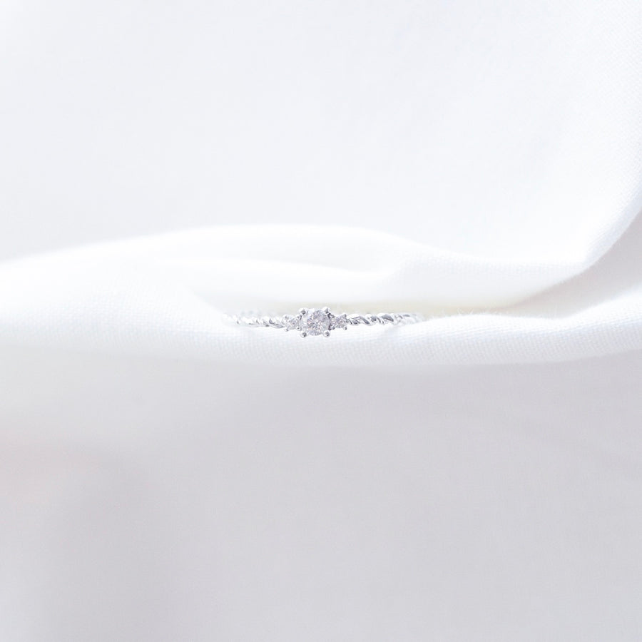 Made in Korea Ring Cubic Zirconia Stone 925 Sterling Silver Rhodium Plated Bride Bridal Dinner Accessory Fashion Fancy Stylish Jewellery Online Malaysia Shopping Trendy Accessories Daily Wear Jewelry Dainty Minimalist Delicate Wear Cincin Adjustable Special Perfect Gift From Heart For Your Loved One