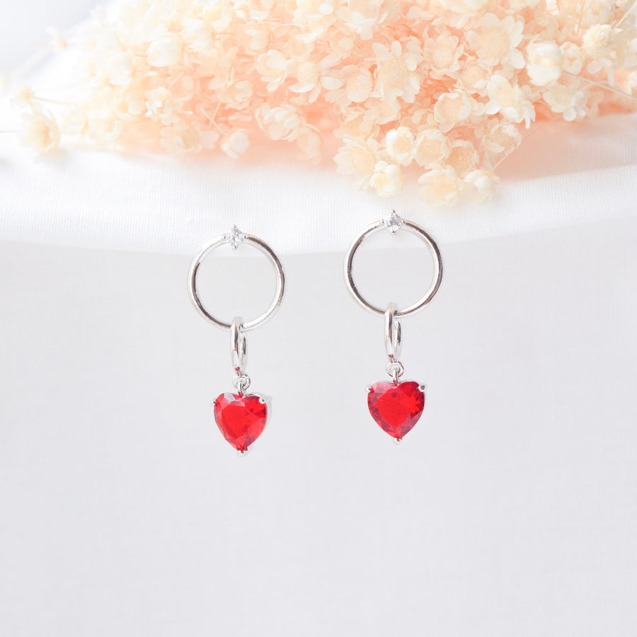 Made in Korea Earrings Korean Anting Cubic Zirconia Bride Bridal Dinner 925 Sterling Silver Accessory Fashion Fancy Stylish Costume Jewellery Online Malaysia Shopping Trendy Accessories Daily Wear Jewelry Dainty Minimalist Delicate Clip On Earrings No Piercing Special Perfect Gift From Heart For Your Loved One Crash Landing On You