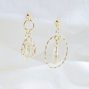 Gold Orbinna Earrings