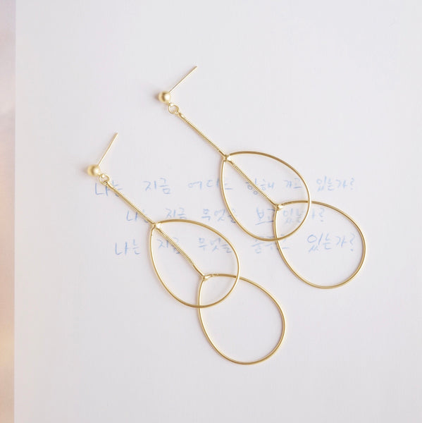 Gold Anthia Earrings