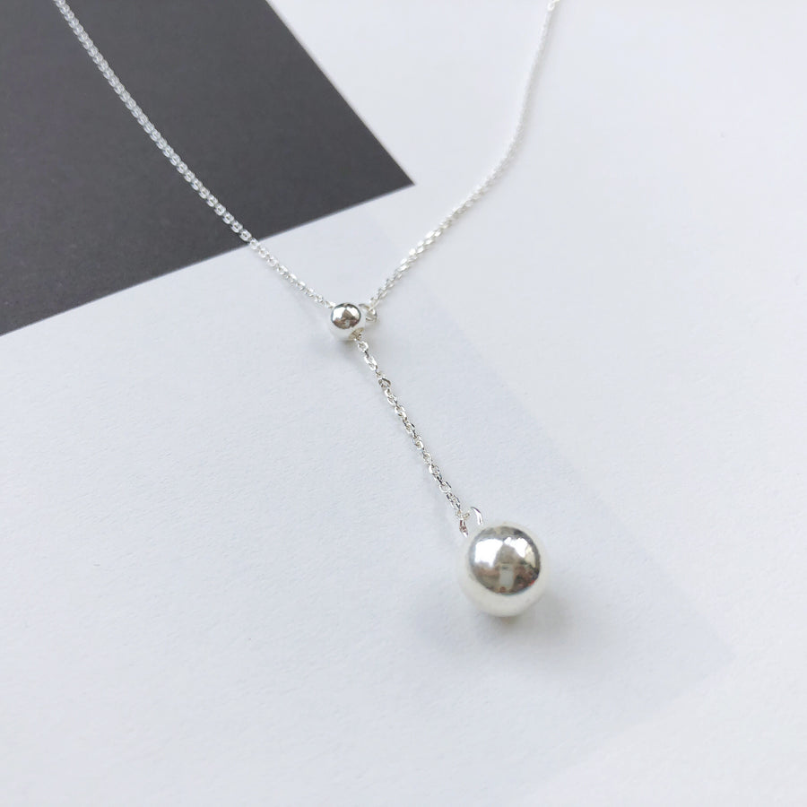 Silver Made in Korea Necklace Korean Rantai Leher Cubic Zirconia Bride Bridal Dinner 925 Sterling Silver Accessory Fashion Fancy Stylish Jewellery Online Malaysia Shopping Trendy Accessories Daily Wear Jewelry Dainty Minimalist Delicate Special Perfect Gift From Heart For Your Loved One