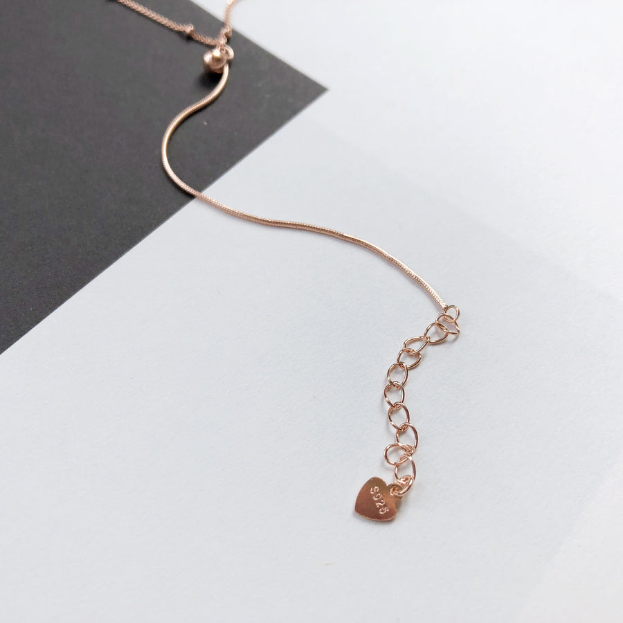 Rose Gold Rachelle Necklace