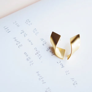 Gold Takahashi Earrings