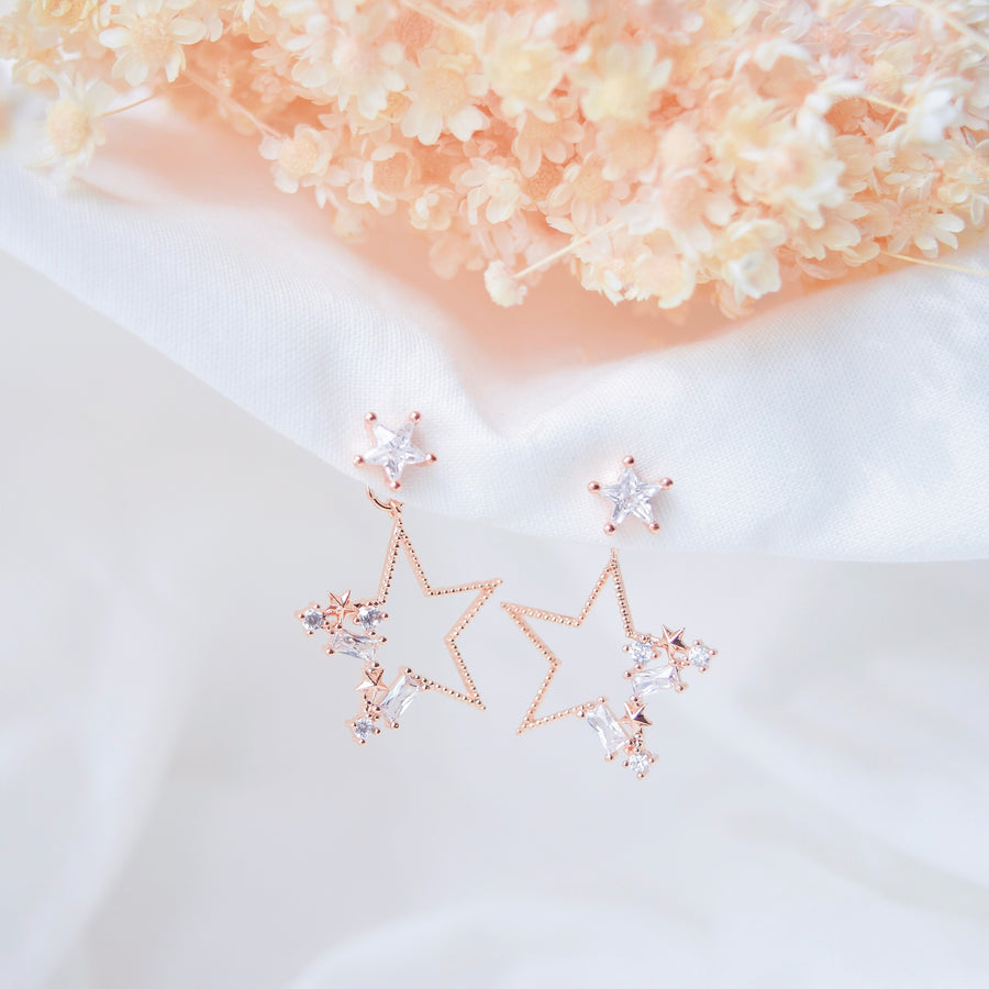 Rose Gold Korea Made Earrings Local Brand in Malaysia