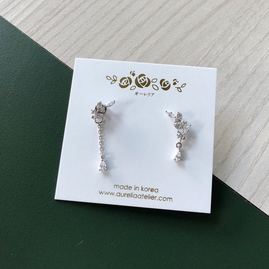 Silver Wish You Were Here Earrings