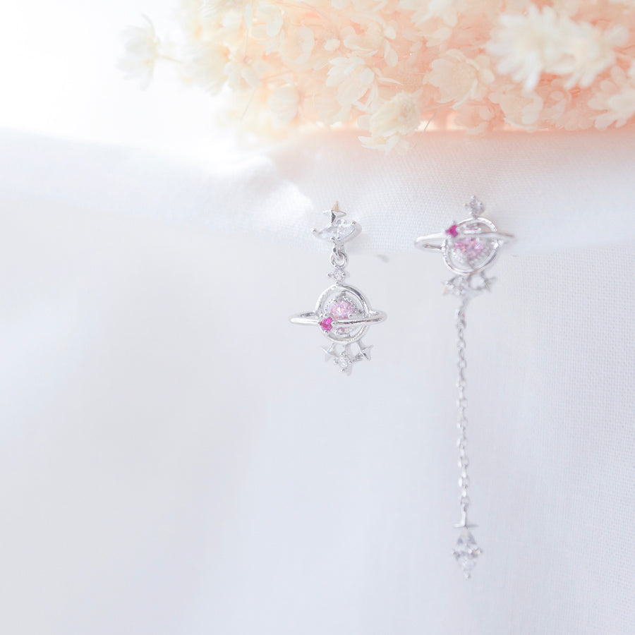 Made in Korea Earrings Korean Anting Cubic Zirconia Bride Bridal Dinner 925 Sterling Silver Accessory Fashion Fancy Stylish Costume Jewellery Online Malaysia Shopping Trendy Accessories Daily Wear Jewelry Dainty Minimalist Delicate Clip On Earrings No Piercing Special Perfect Gift From Heart For Your Loved One