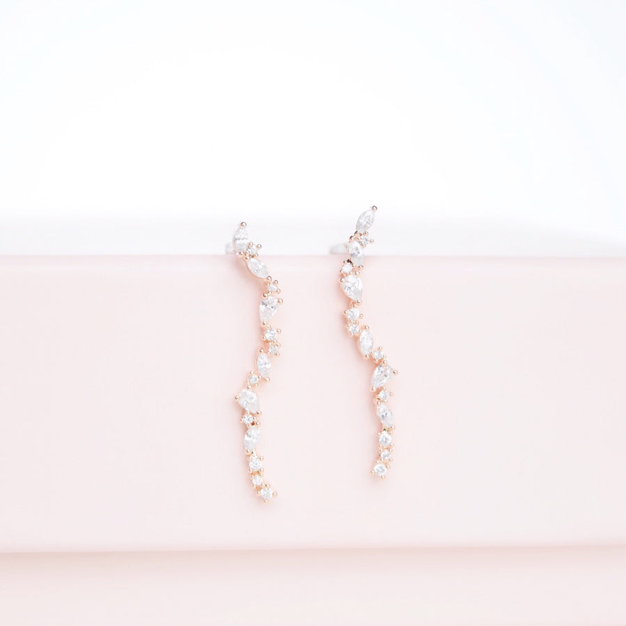 Rose Gold Stand by You Earrings