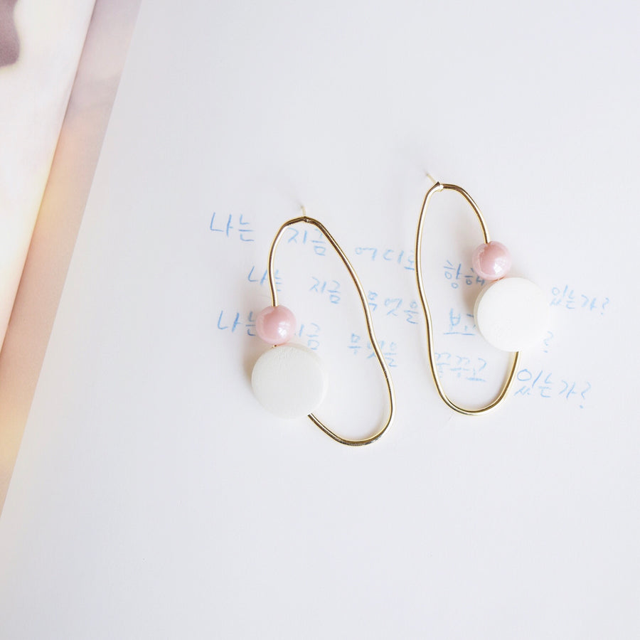 Gold Jacques Earrings