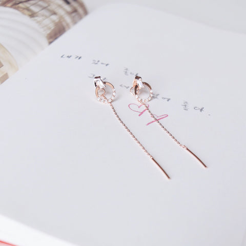 Rose Gold Gloria Earrings