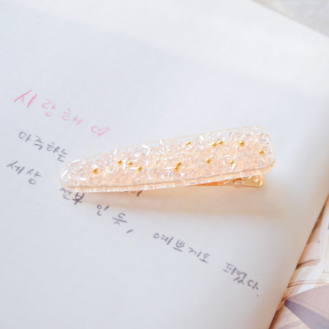 Hair Barrette Jewelry Fancy Daily Wear Crystal Bead Pearl Hair Clip For Wedding Bride Bridal Hair Accessories Hair Pin Hairclip Local Brand In Malaysia