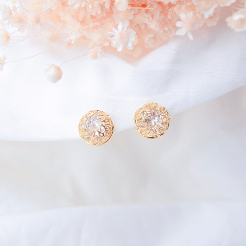 Gold Chris Belle Earrings