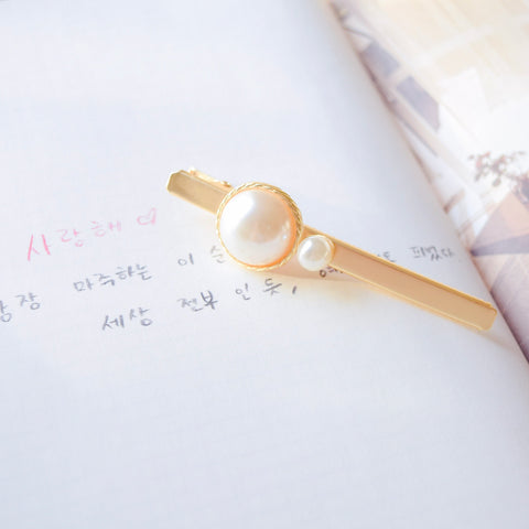Hair Barrette Jewellery Daily Wear Klip Rambut Online Malaysia Pin Rambut Pearl Hairclip Korean Fashion