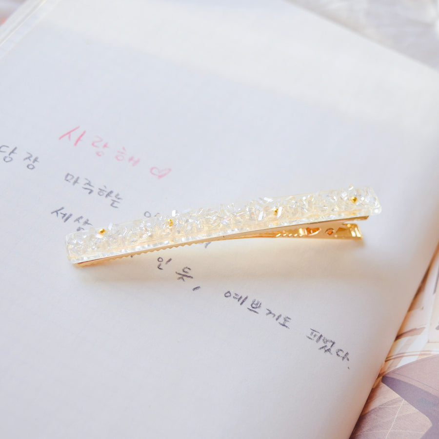 Hair Barrette Jewelry Daily Wear Crystal Bead Hair Clip For All Hair Style Hair Pin Hairclip Local Brand In Malaysia