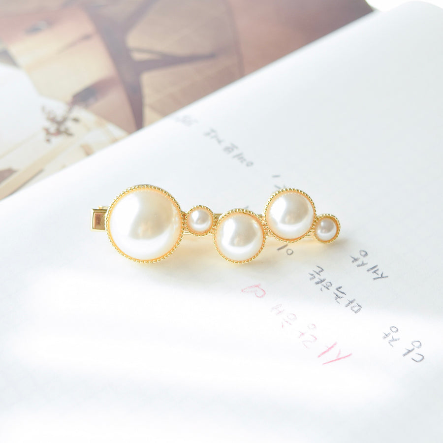 Hair Pin Hairclip Hair Clip Hair Barrette Local Brand in Malaysia Pearl Hair Clip