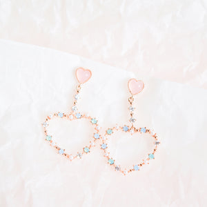 Opalescent Silverbell Earrings