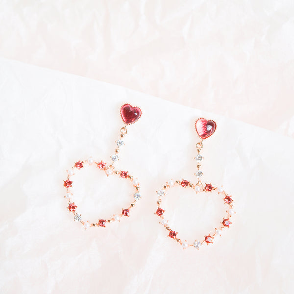 Ruby Silverbell Earrings