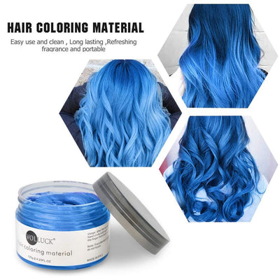 Mofajang Hair Dye Wax Storioh Blue