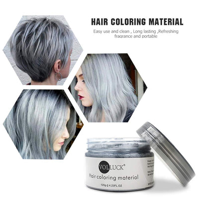 Mofajang Hair Dye Wax Storioh Gray