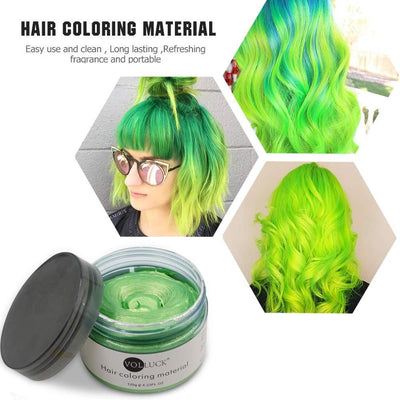 Mofajang Hair Dye Wax Storioh Green