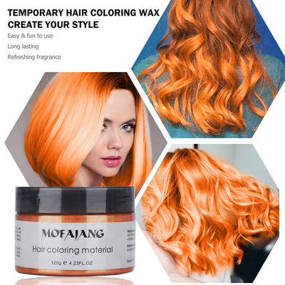 Mofajang Hair Dye Wax Storioh Orange