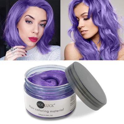 Mofajang Hair Dye Wax Storioh Purple