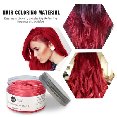 Mofajang Hair Dye Wax Storioh Red