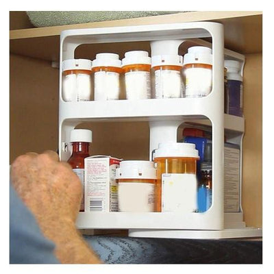 Slide and Hide - Sliding Spice Rack Storioh
