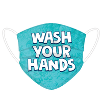 Wash Your Hands Face Cover
