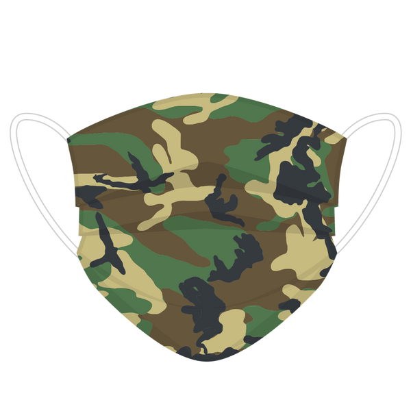 Camo Face Covers