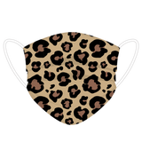 Leopard Print Face Cover