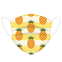 Pineapple Print Face Cover