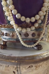 Romantic Shabby Crown Jewelry Display