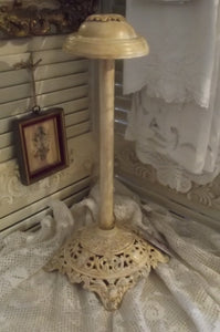Romantic French Creamy Tall Display Hat Stand