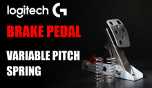 Load image into Gallery viewer, Logitech Brake Pedal Upgrade: Variable Pitch Spring