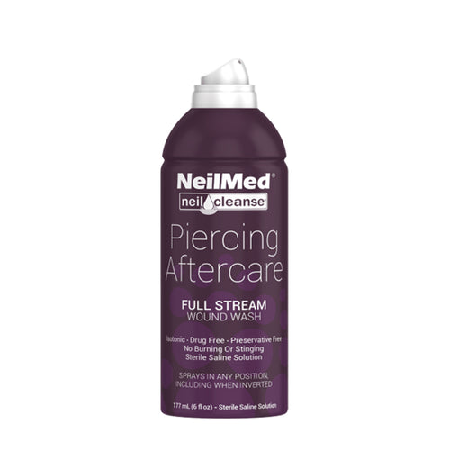 NeilMed Piercing Aftercare Saline Spray (Case of 24) - 177 ML