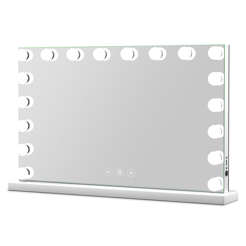Marilyn Hollywood Mirror with LED Lights - 60x100cm - Glamour Mirrors