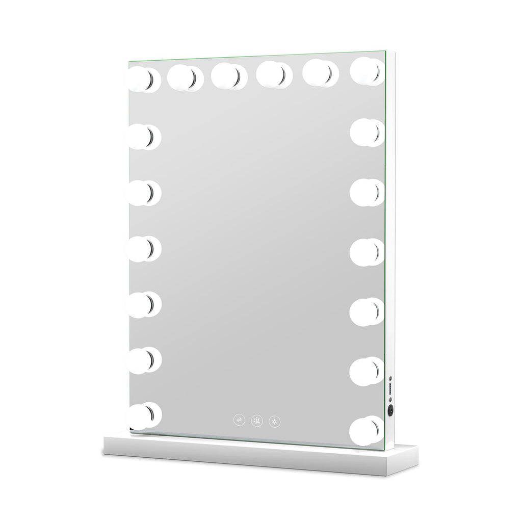 Marilyn Hollywood Mirror with LED Lights - 80x60cm - Glamour Mirrors