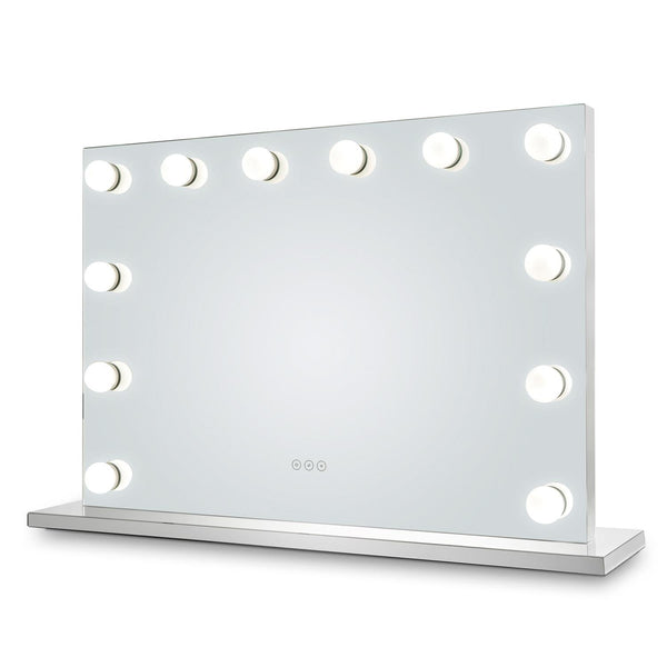 Kendall Hollywood Mirror with LED Lights - 70x100cm - Glamour Mirrors