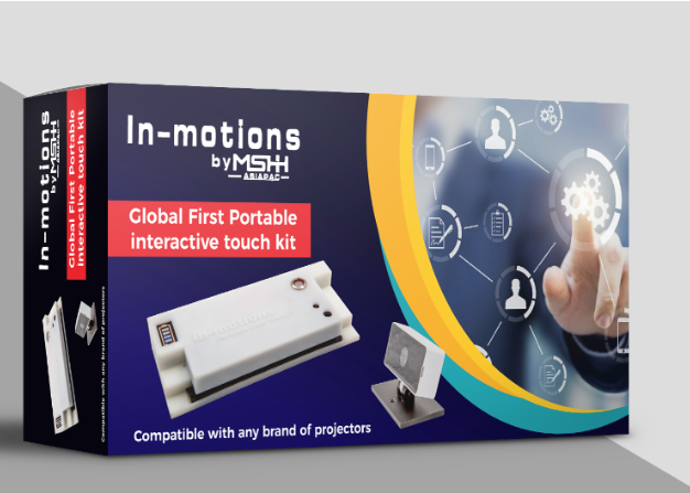 10 points multi users In Motion Interactive touch Kit for working and entertainment