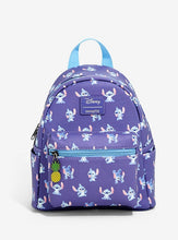Load image into Gallery viewer, Loungefly Disney Lilo and Stitch Mini Backpack
