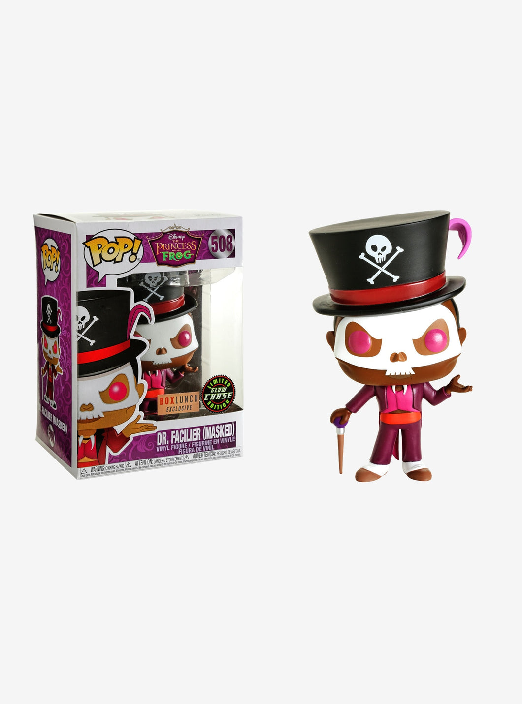 Funko Pop! #508 Dr. Facilier Masked Chase (BL Excl)