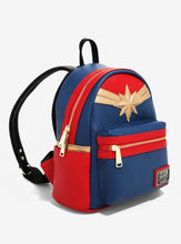 Load image into Gallery viewer, Loungefly Marvel Captain Marvel Mini Backpack