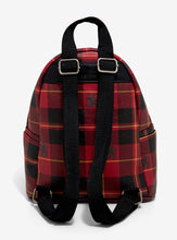Load image into Gallery viewer, Loungefly Harry Potter Gryffindor Plaid Mini Backpack