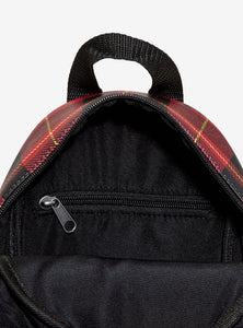 Loungefly Harry Potter Gryffindor Plaid Mini Backpack