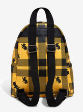 Charger l'image dans la galerie, Loungefly Harry Potter Hufflepuff Plaid Mini Backpack