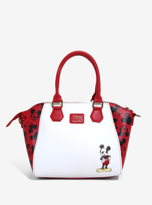 Loungefly Disney Mickey Mouse Sketch Satchel Bag