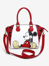 Load image into Gallery viewer, Loungefly Disney Mickey Mouse Sketch Satchel Bag