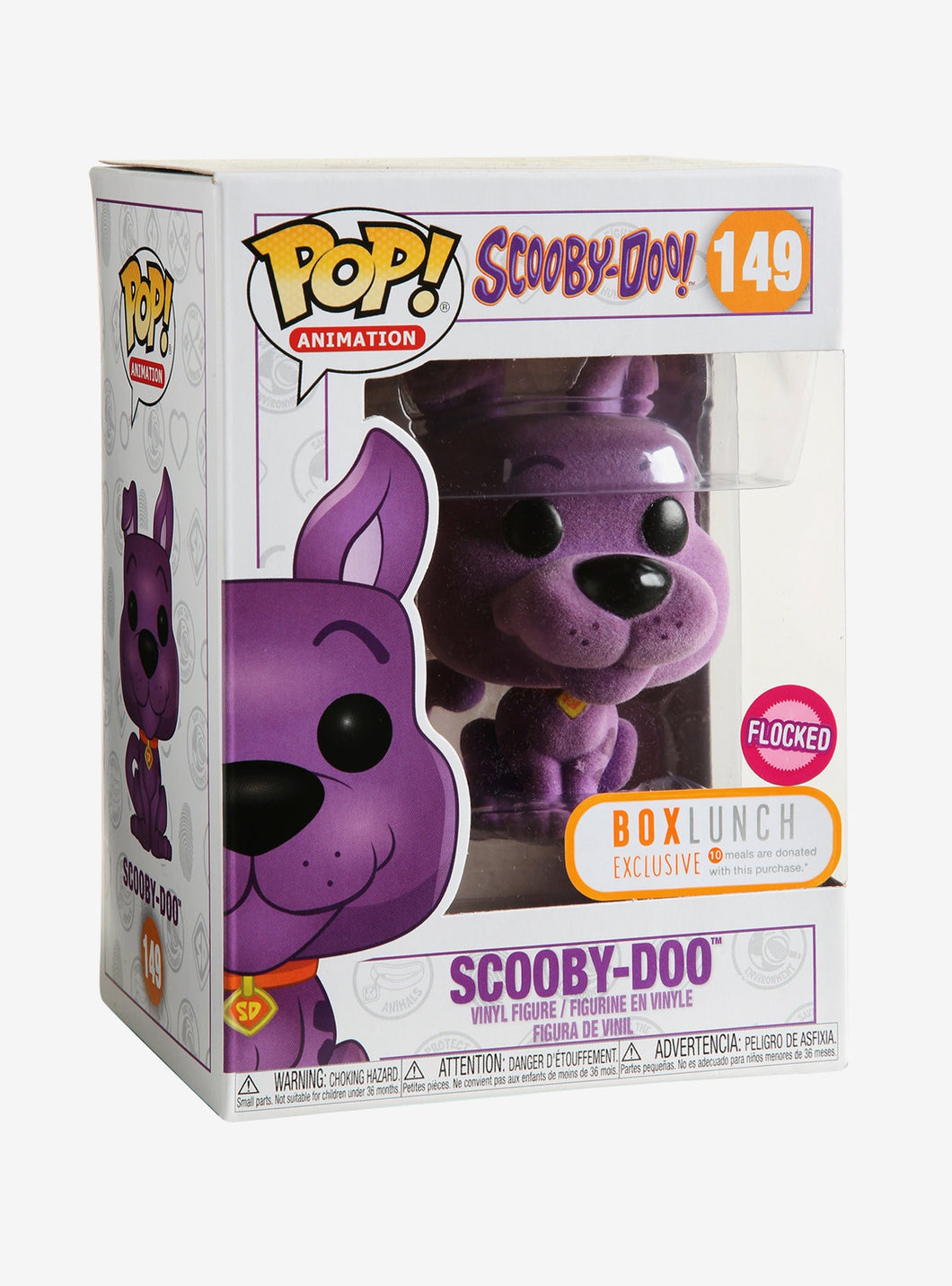 Funko Pop! #149 Purple Scooby Doo (Flocked)