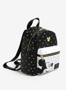 Loungefly Mickey Mouse Letters Mini Backpack